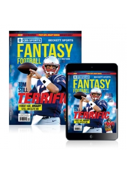 CBS Sports & Beckett Sports Present Fantasy Football-1 2017 (Print+Digital) COMBO