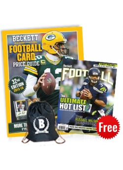 Football Price Guide #32 + Sling Bag and get Football 3 months print subscription FREE