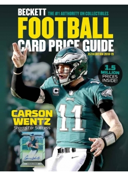 2018 Beckett Football Card Price Guide #35