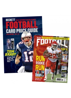 Purchase Beckett Football Card Price Guide #34 and get 3 Months Football Subscription FREE