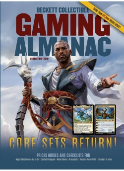 Beckett Collectible Gaming Almanac #9 2018