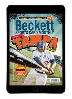 Beckett Sports Card Monthly May  2019 Digital