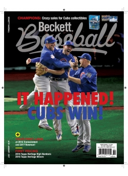 Beckett Baseball 15 Issue Offer