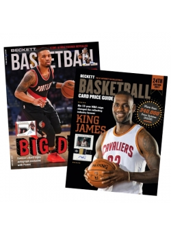 Beckett Basketball 1 Year Print Subscription + Beckett Basketball Card Price Guide #24