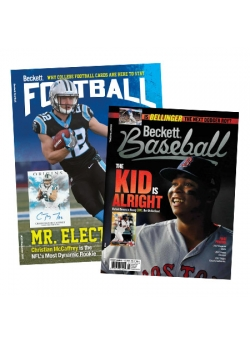 Beckett Baseball and Beckett Football Subscription Combo