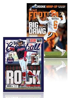 Beckett Football and Beckett Baseball Combo for just $74.95