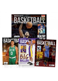 3 Back Issues Free with 1- Year Beckett Basketball Subscription