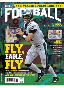 Free Football Card Price Guide #34 with 1-year Football Subscription