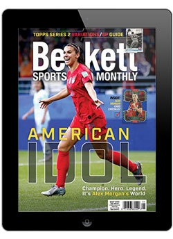 Beckett Sports Card Monthly August  2019 Digital