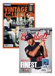Beckett Vintage Collector & Beckett Baseball