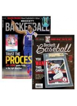 Yearly Subscription to Beckett Basketball Plus Beckett Baseball