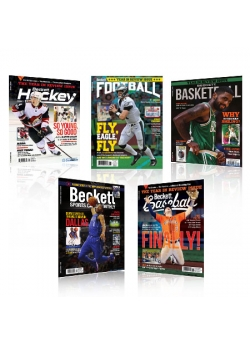 All Sports Offer with Polybag (6 Months Baseball + 6 Months Basketball + 6 Months Football + 6 Months Hockey + 6 Months SCM)