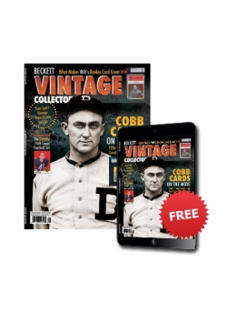 Get 2 Digital Issues FREE with your 1-Year Beckett Vintage Collector Print Subscription