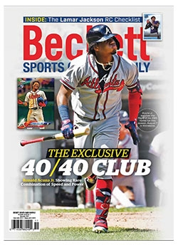 Beckett Sports Card Monthly 416 November 2019