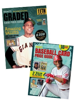 Graded Card Price Guide Issue# 11 2017 + Beckett Baseball Card Price Guide 38th Edition