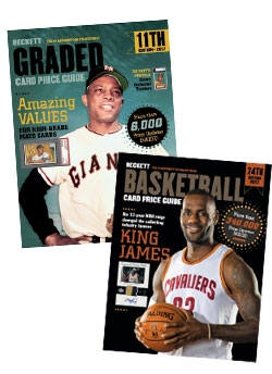 Graded Card Price Guide Issue# 11 2017 + Beckett Basketball Card Price Guide #24