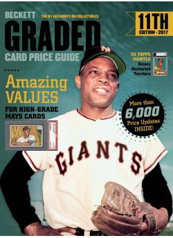 Graded Card Price Guide Issue# 11 2017