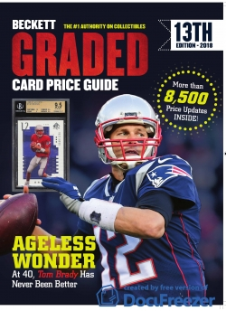 Beckett Graded Card Price Guide 13th Edition 2018
