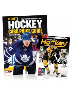 Purchase Hockey Card Price Guide #27 and Get 3 months Hockey Subscription FREE