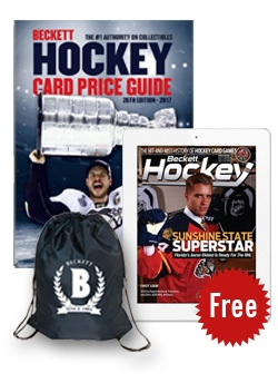 Beckett Hockey Card Price Guide #26 + 3 Months Hockey Digital Subscription FREE