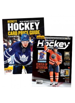 Purchase Beckett Hockey Card Price Guide #27 and get 3 Months Hockey Subscription FREE