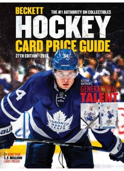 Beckett Hockey Card Price Guide #27 2017-18