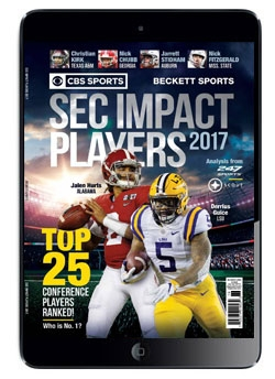CBS Sports & Beckett Sports Present SEC Impact Players 2017 Digital Issue