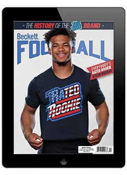Beckett Football December 2019 Digital