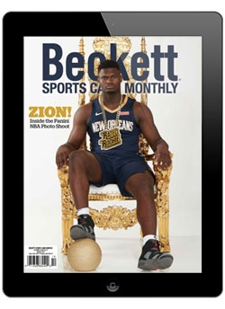 Beckett Sports Card Monthly October 2019 Digital