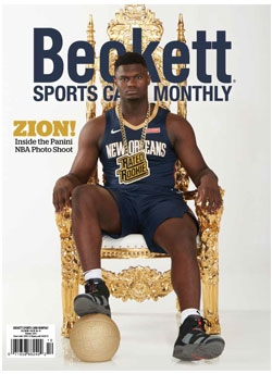Beckett Sports Card Monthly 415 October 2019