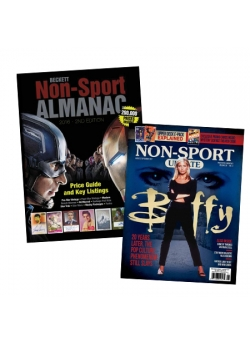 Beckett Non-Sports Almanac #2 + Non Sport Update August/September-17 FREE