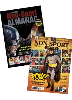 Beckett Non-Sports Almanac #2 + Non Sport Update February/March-17 FREE