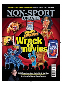 Beckett Non-Sport Update April/May-18 Issue