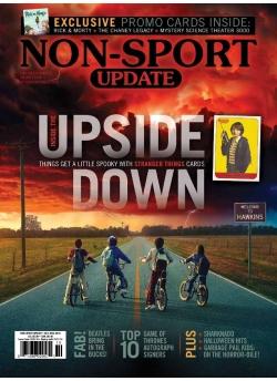 Beckett Non-Sport Update Oct/Nov-18 Issue