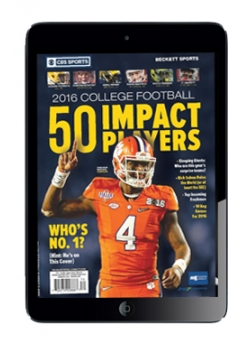 2016 College Football - 50 Impact Players DIGITAL ONLY
