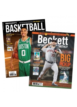 Beckett Basketball 1 Year Subscription Plus Beckett Sports Cards Monthly 1 Year Subscription