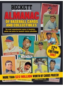 Beckett Baseball Almanac #12th Edition 2007