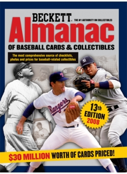 Almanac Of Baseball Cards And Collectibles No 13 2008 Edition Book