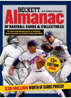 Beckett Baseball Almanac #13th Edition 2008