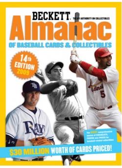 Beckett Baseball Almanac #14th Edition 2009