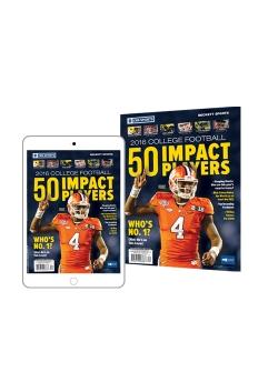 2016 College Football 50 Impact Players PRINT+DIGITAL