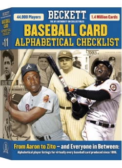 Baseball Card Alphabetical Checklist No. 11