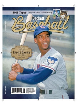 Beckett Baseball 109 April 2015