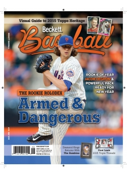 Beckett Baseball 110 May 2015