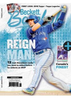 Beckett Baseball 116 November 2015