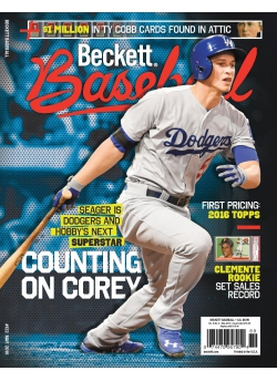 Beckett Baseball 122 May 2016