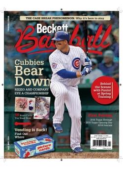 Beckett Baseball 123 June 2016