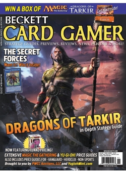 Beckett Card Gamer-Summer 2015