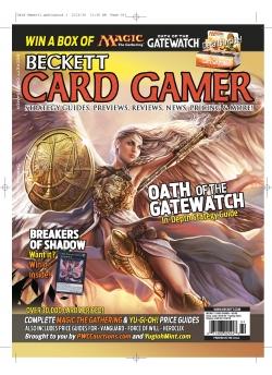 Beckett Card Gamer-Spring 2016