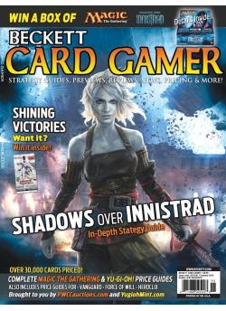 Beckett Card Gamer-Summer 2016